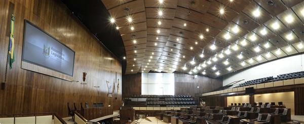 Plenário 20 de Setembro receberá os deputados da 55ª Legislatura