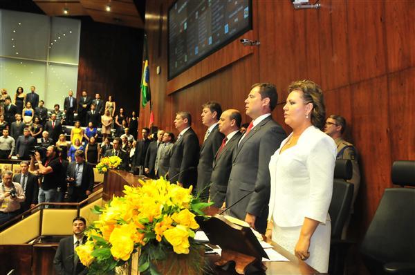 54º Legislatura Eleição e Posse da Mesa Diretora 2015/2016