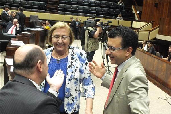 Deputada Estadual Zilá Breitenbach na Tribuna do Plenário 20 de setembro