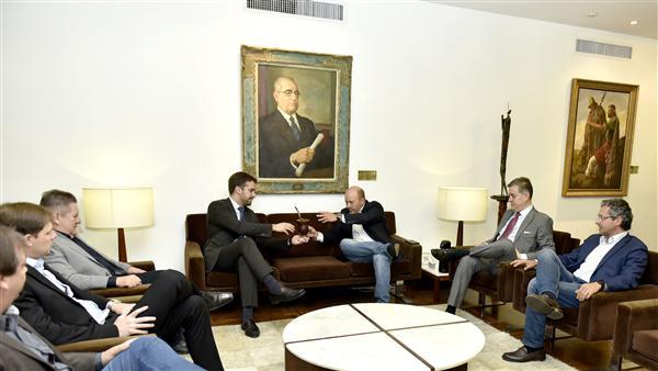 Presidente da Assembleia Legislativa recebe visita do governador eleito