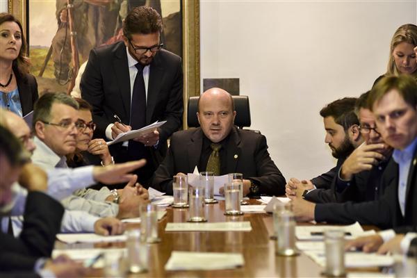Reunião de líderes manteve a mesma pauta da semana passada