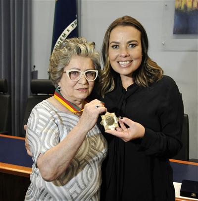 A cerimônia aconteceu no plenário Bento Gonçalves do Memorial do Legislativo