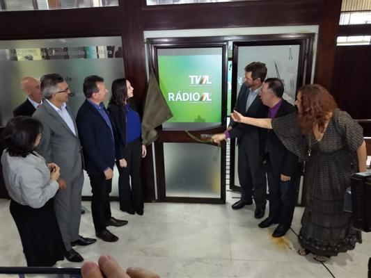 Inauguração da TV AL e nova marca da Comunicação