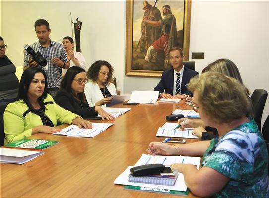 Deputadas elegeram Kelly Moraes durante reunião nesta terça-feira