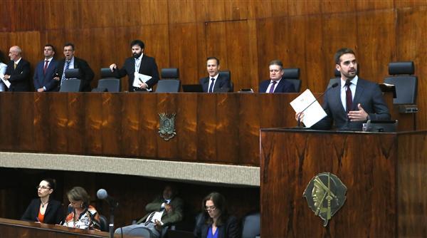 Manifestação do governador na abertura do ano legislativo é prevista na Constituição Estadual