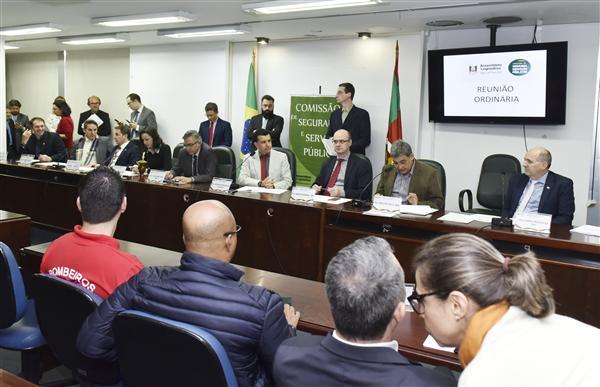 Reunião ocorreu antes de audiência pública da comissão