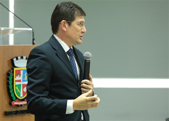 Delegado da Receita Federal de Santa Cruz do Sul, Leomar Padilha
