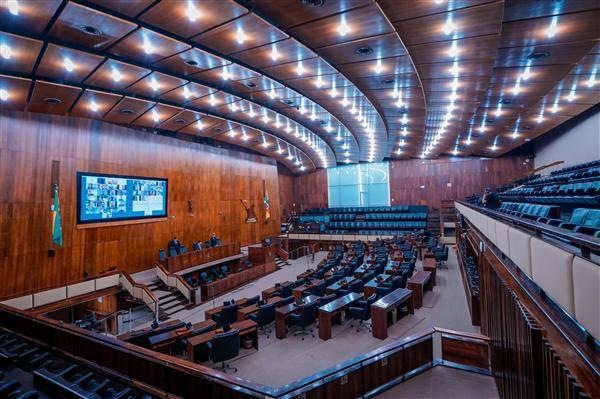 Primeira Sessão Plenária Virutal da história da Assembléia Legislativa
