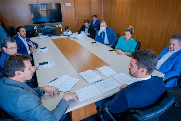 Reunião presidente e governador