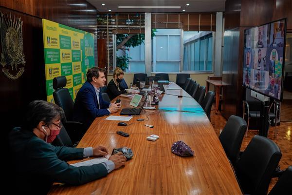Mesa Diretora teve reunião virtual na manhã de hoje
