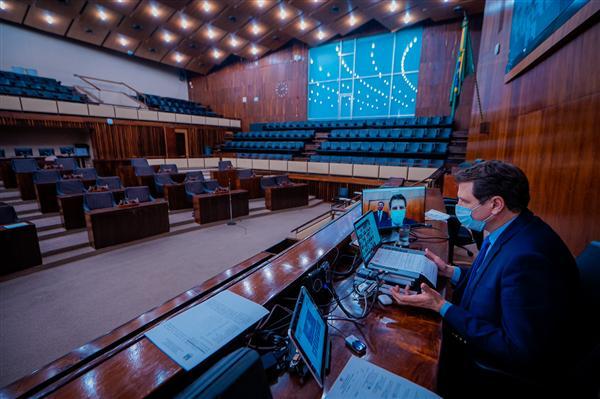 Sessão por deliberação remota ocorre na quarta-feira