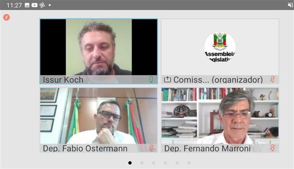 Comissão do Mercosul e Assuntos Internacionais, reunião virtual