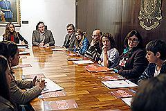 Reunião foi coordenada pelo deputado Vinícius Ribeiro