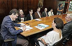 Assembleia e entidades renovaram parceria em ato na Sala da Presidência
