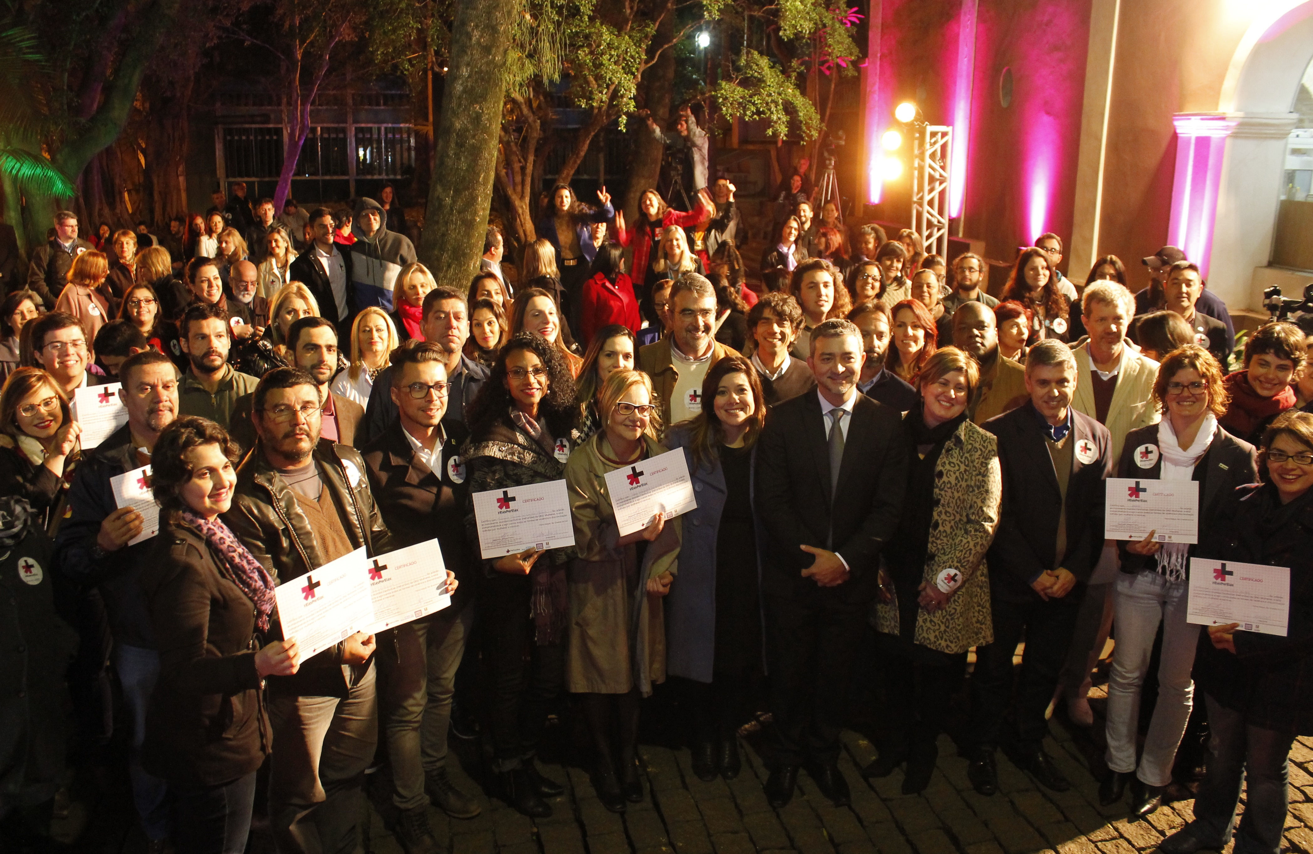 Iniciativa da ONU visa engajar homens no enfrentamento à violência contra mulheres (Foto: Leandro Molina)