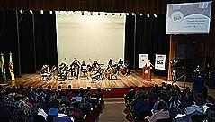 Teatro Dante Barone recebeu jovens na abertura do Deputado Por Um Dia