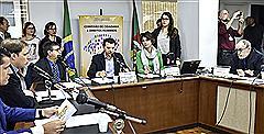 Promotor da Infância e Juventude participou da reunião
