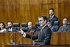 Fabiano Dellazen utilizou a tribuna para apresentar dados do MP em 2017