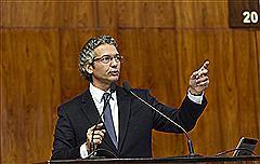 Deputado Frederico Antunes em pronunciamento no espaço das Comunicações em plenário nesta tarde